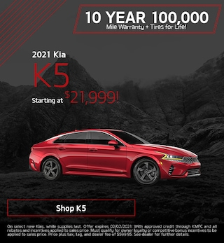 New 2021 Kia K5 | Starting at $21,999