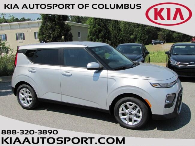Kia Columbus Ga >> New 2020 Kia Soul Sparkling Silver For Sale Columbus Ga Vin