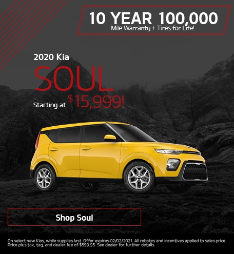 New 2020 Kia Soul | Starting at $15,999