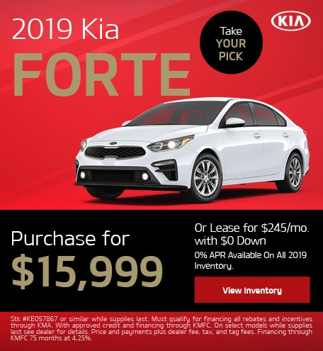 New 2019 Kia Forte | Purchase or Lease