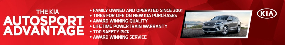 The Kia Auto Sport Advantage