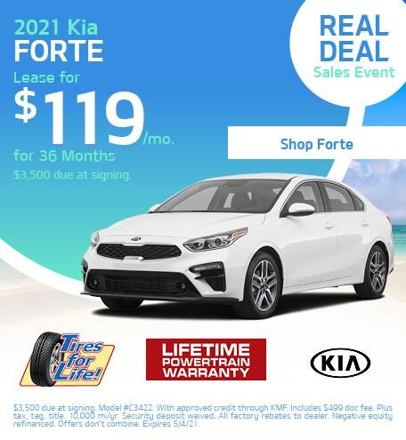 New 2021 Kia Forte | Lease