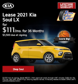 New 2021 Kia Soul | Lease