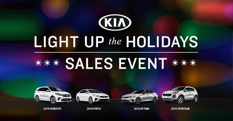 Holiday Sales Event Hendrick Kia of Concord