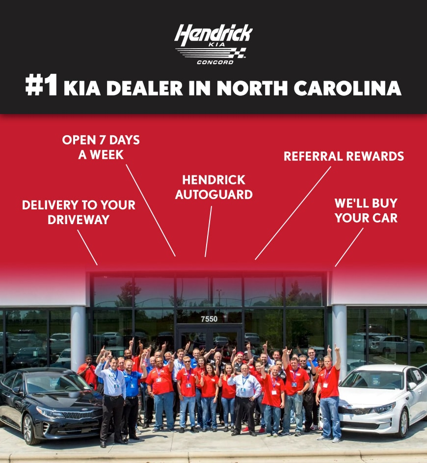 Why Buy at Hendrick Kia of Concord