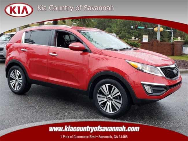 Certified Pre-Owned 2015 Kia Sportage EX FWD SUV for sale in Savannah