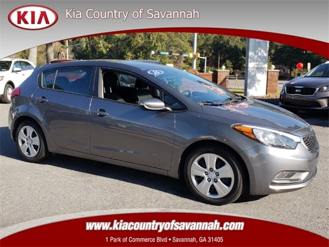 Certified Pre-Owned 2016 Kia Forte LX FWD Hatchback for sale in Savannah