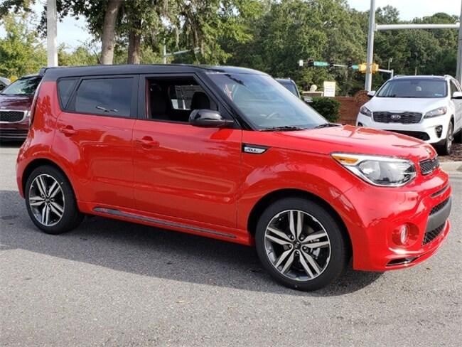 New 2019 Kia Soul + Hatchback for sale in Savannah GA