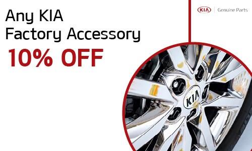 Any KIA Factory Accessory