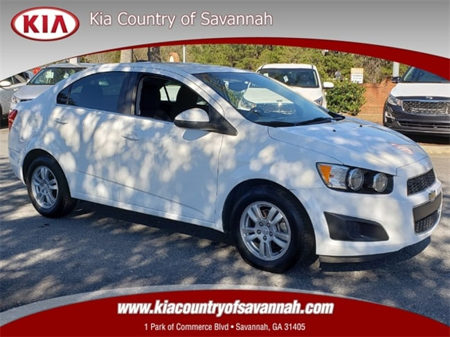 2015 Chevrolet Sonic LT Auto Sedan Savannah GA