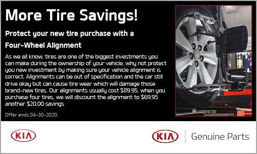 More Tire Savings!
