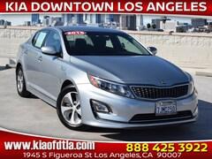 Used 2015 Kia Optima Hybrid LX FWD Sedan KNAGM4AD4F5079788 K34552A for sale near you in Los Angeles