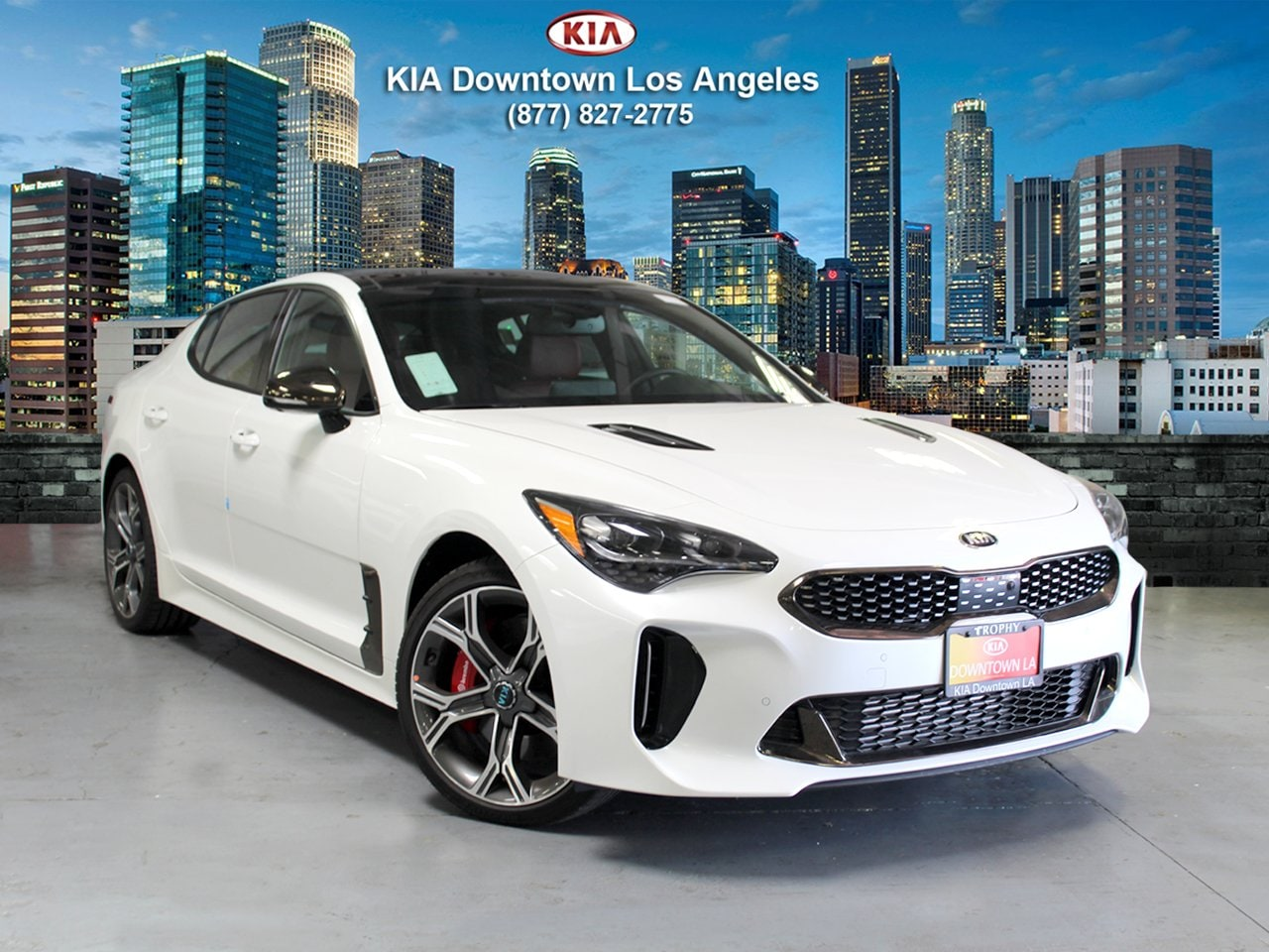 Featured New 2019 Kia Stinger GT2 Sedan for sale near you in Los Angeles