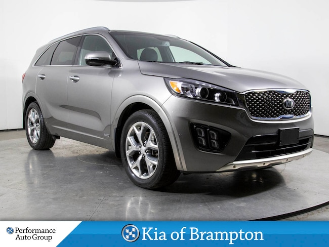 2018 Kia Sorento SX. PANO ROOF. HTD/COOL SEATS. NAVI. DEMO UNIT SUV