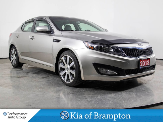 2013 Kia Optima EX. LUXURY. NAVI. ROOF. HTD SEATS. WINTERS/RIMS Sedan