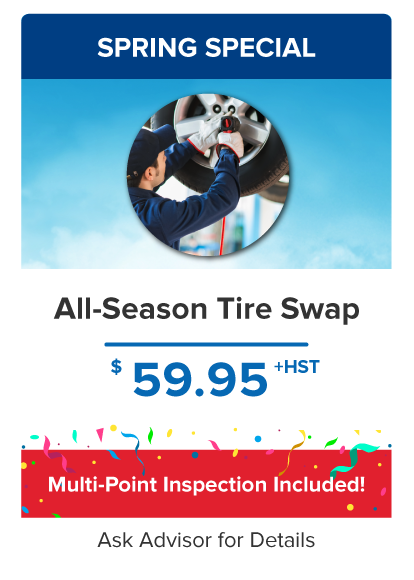 All-season Tire Swap
