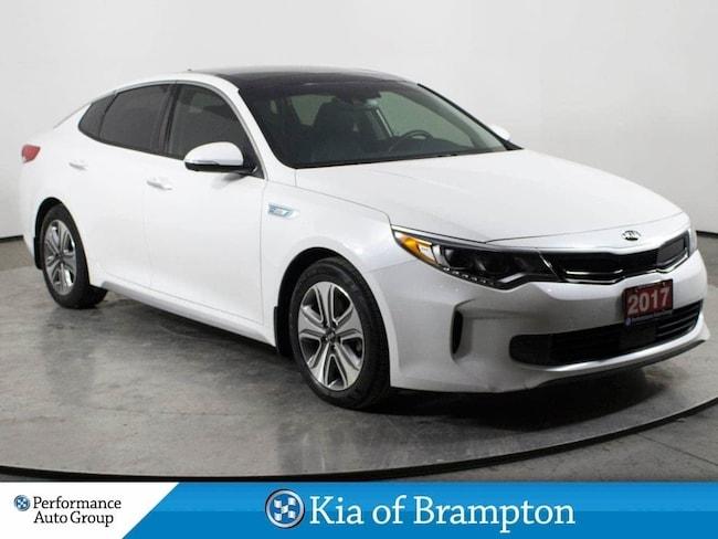 2017 Kia Optima Hybrid EX. PREMIUM. NAVI. LEATHER. ROOF. HTD SEATS Sedan