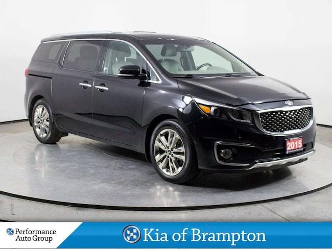2015 Kia Sedona SXL+. NAVI. 360 CAMERA. HTD SEATS. 7 PASS Minivan