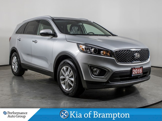 2016 Kia Sorento 2.0L LX+. HTD SEATS. CAMERA. BLUETOOTH. LOW KM SUV