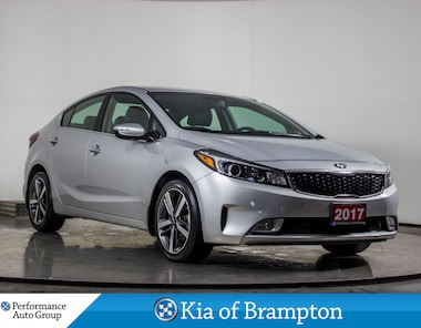 2017 Kia Forte SX. LEATHER. BLIND SPOT/LANE DEPARTURE. CAMERA Sedan