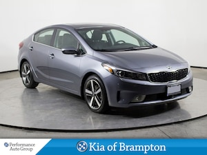 2017 Kia Forte EX. HTD SEATS. CAMERA. ROOF. DEMO UNIT
