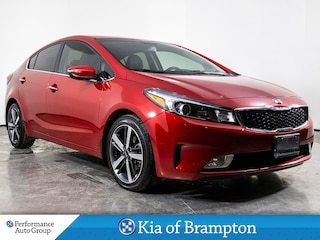 2017 Kia Forte EX. LUXURY. LEATHER. CAMERA. HTD SEATS. ALLOYS Sedan
