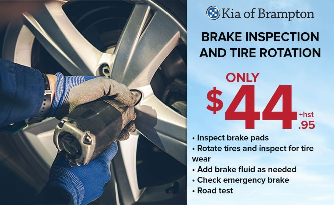 Brake Special at Kia of Brampton