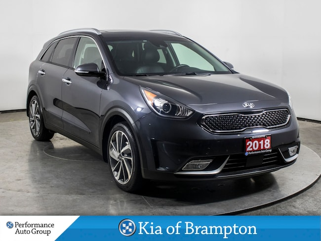 2018 Kia Niro SX TOURING. NAVI. CAMERA. LEATHER. BLIND SPOT SUV