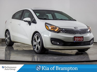 2013 Kia Rio SX. NAVI. CAMERA. HTD SEATS. ROOF. ALLOYS Sedan