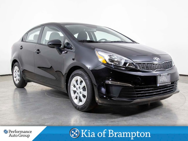 2017 Kia Rio LX+. R/START. HTD SEATS. BLUETOOTH. SIRIUSXM Sedan
