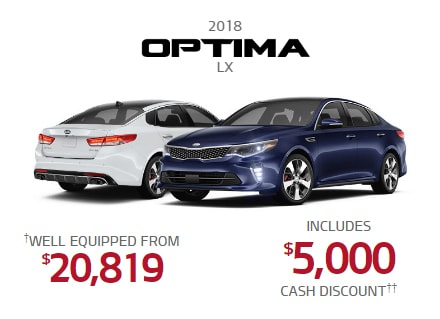 Kia Optima Promotion