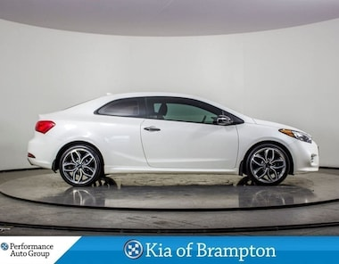 2014 Kia Forte Koup 1.6L SX. TURBO. CAMERA. ALLOYS. CLIMATE CONTROL Coupe