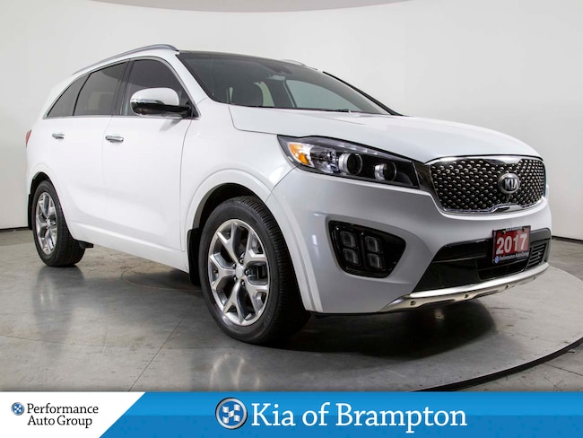 2017 Kia Sorento SX +. 7 PASS. NAVI. 360 CAMERA. R/START. PANO ROOF SUV