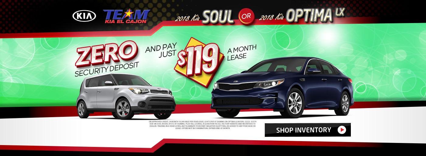 Dodge Dealership San Diego >> San Diego's Team KIA of El Cajon   New Kia & Used Car ...