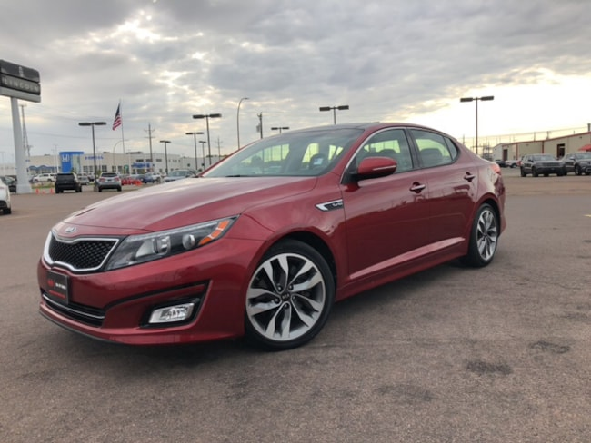 Used 2015 Kia Optima SX Sedan Fargo, ND