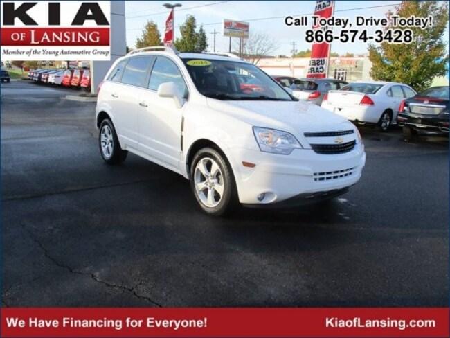 Used 2014 Chevrolet Captiva Sport For Sale At Kia Of Lansing Vin