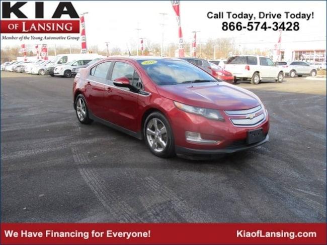 2012 Chevrolet Volt Base w/Premium Trim & Navigation Hatchback