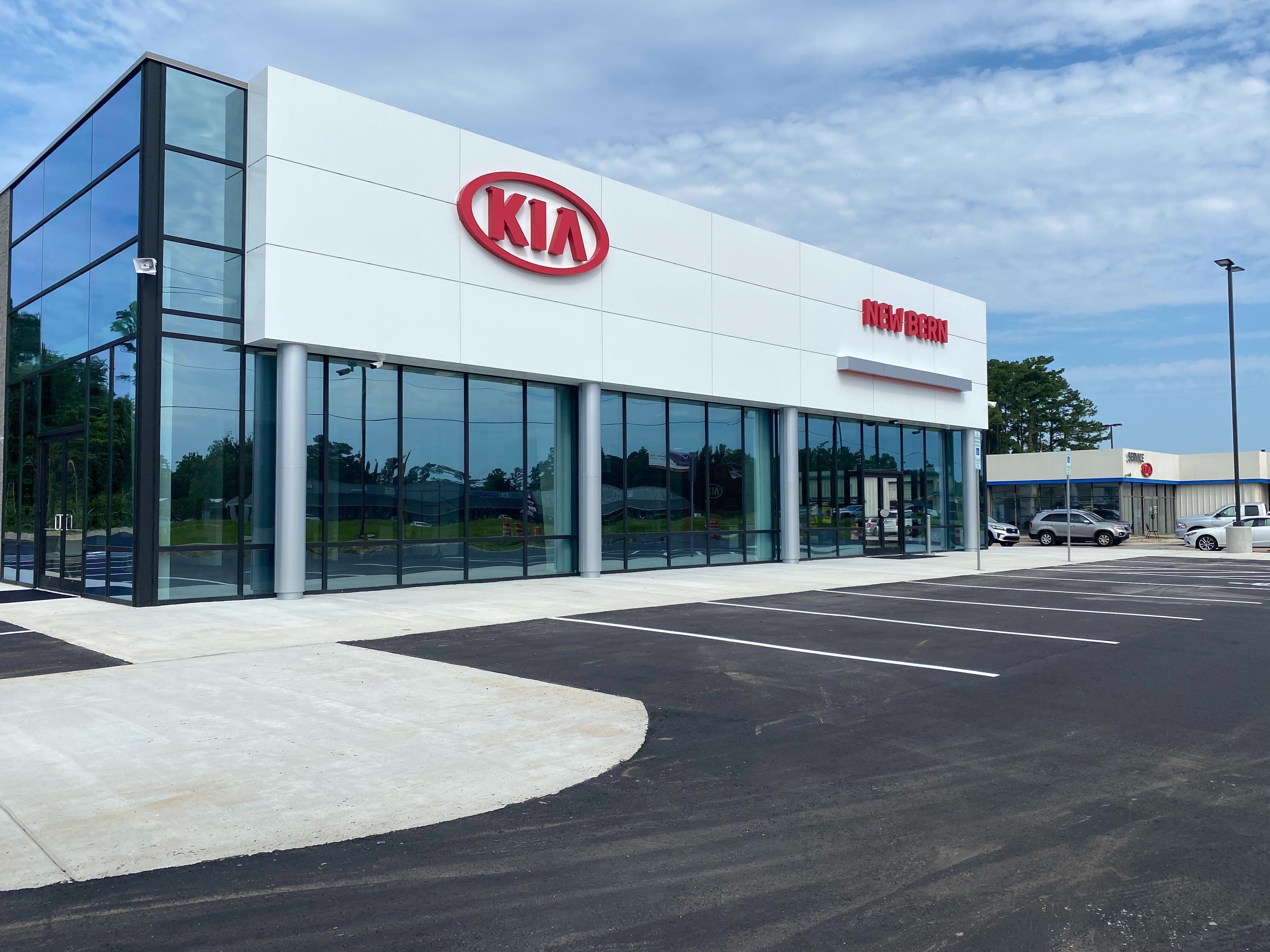 About Kia of New Bern | Storefront of Kia of New Bern
