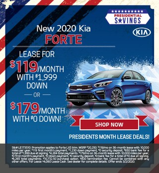 New 2020 Kia Forte - Feb
