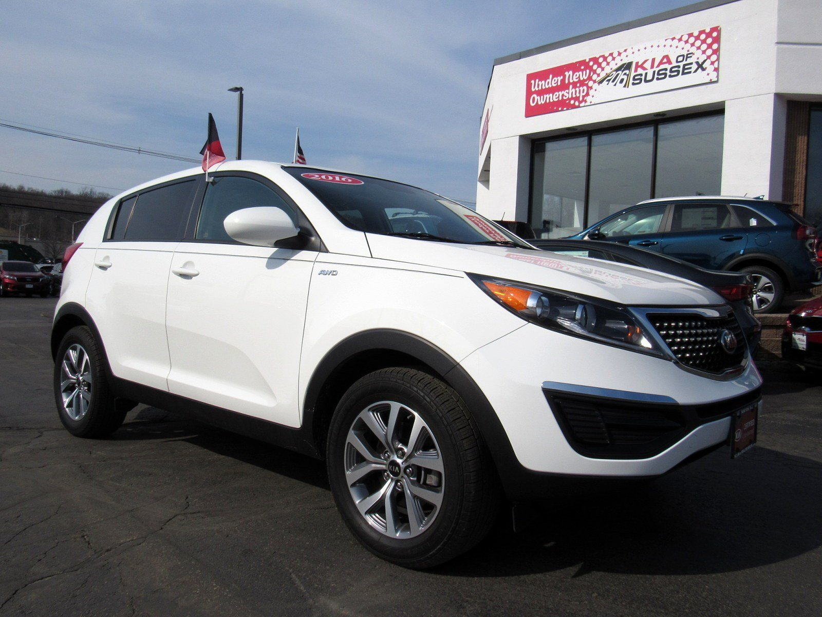 Featured used cars, trucks, and SUVs 2016 Kia Sportage LX AWD  LX for sale near you in Newton, NJ