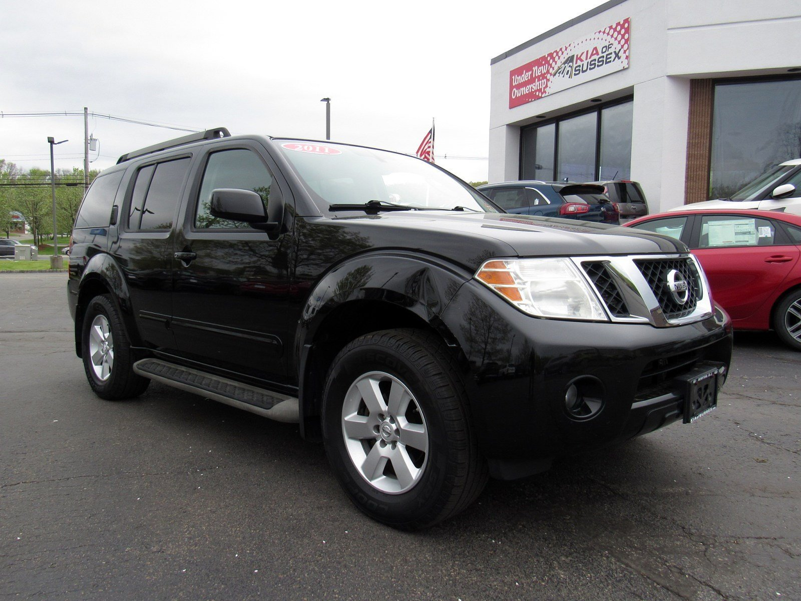 Featured used cars, trucks, and SUVs 2011 Nissan Pathfinder SV 4WD  V6 SV for sale near you in Newton, NJ