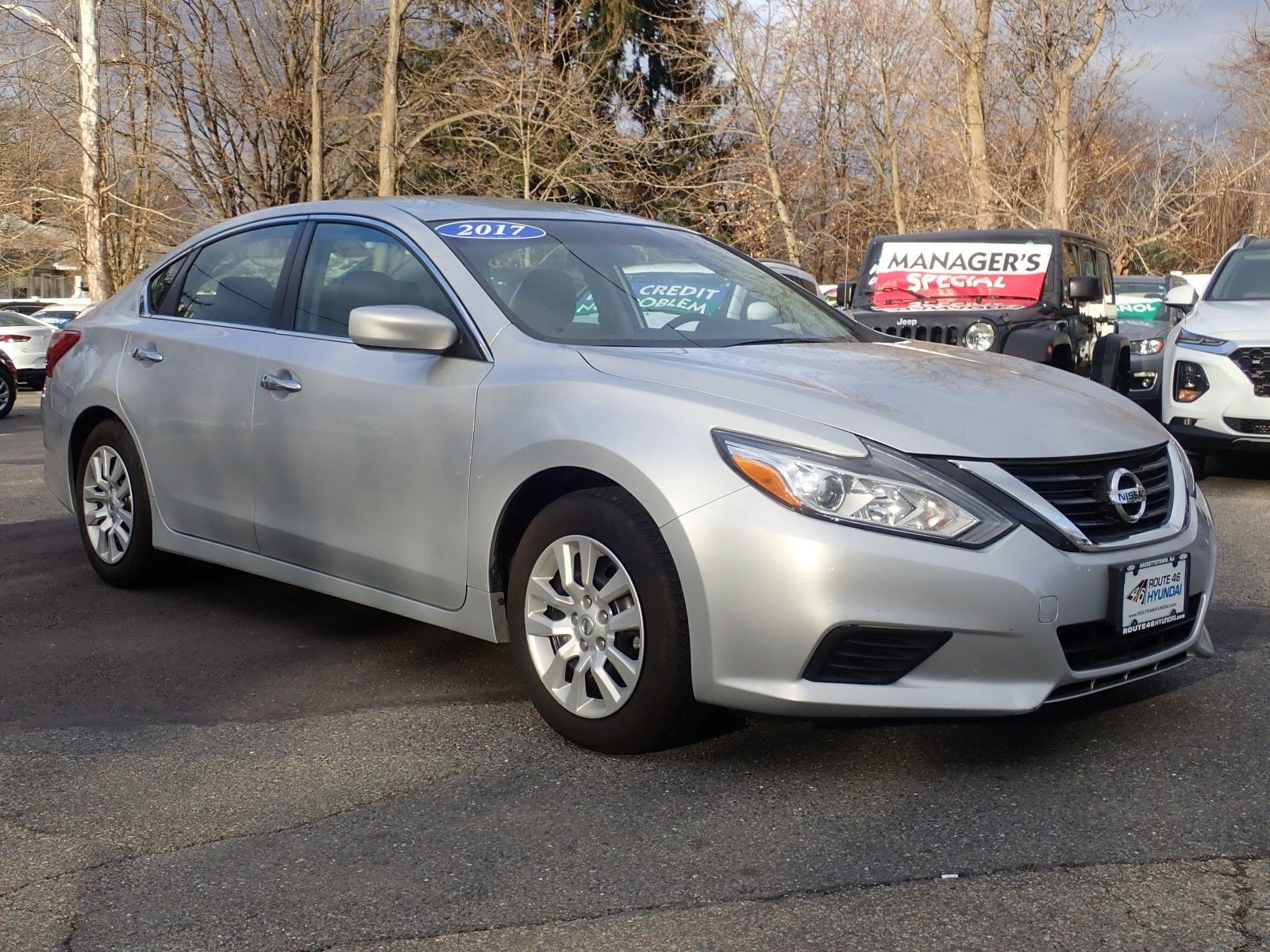 Featured used cars, trucks, and SUVs 2017 Nissan Altima 2.5 S Sedan for sale near you in Newton, NJ