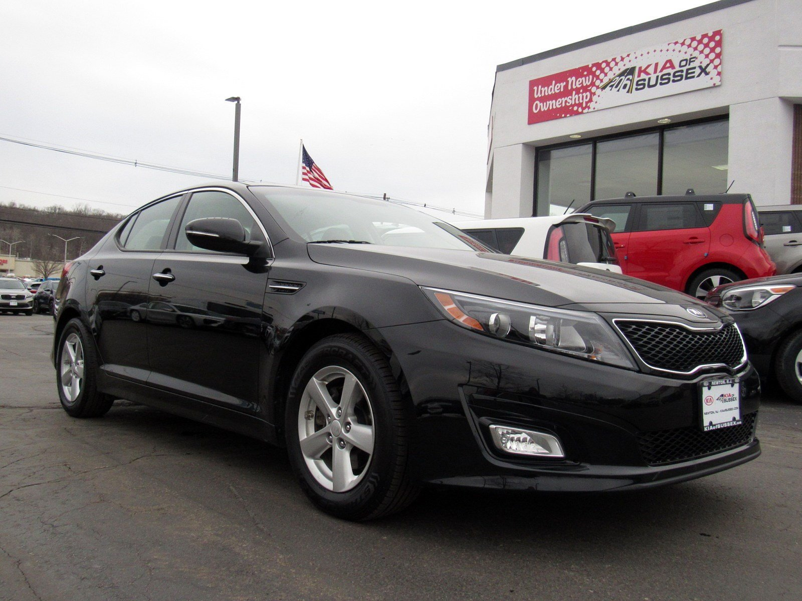 Featured used cars, trucks, and SUVs 2015 Kia Optima LX Sedan for sale near you in Newton, NJ