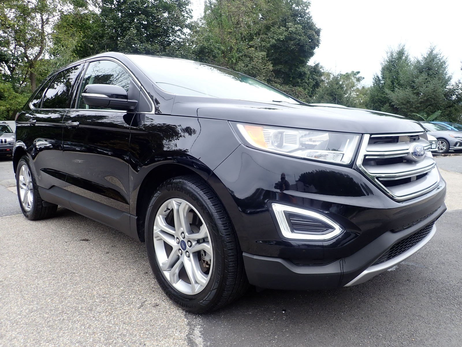 Featured used cars, trucks, and SUVs 2018 Ford Edge Titanium Titanium AWD for sale near you in Newton, NJ