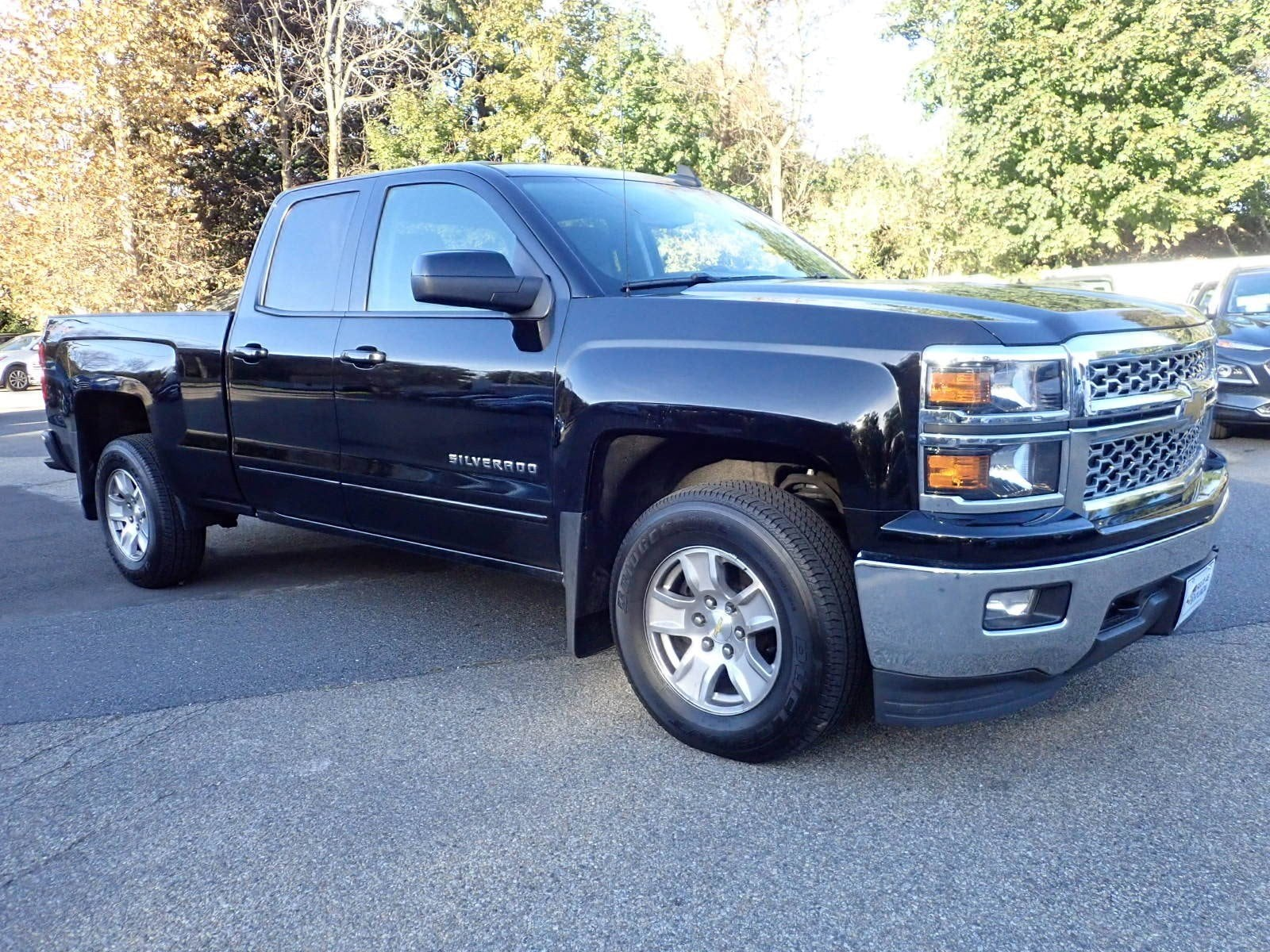 Featured used cars, trucks, and SUVs 2015 Chevrolet Silverado 1500 LT 4WD Double Cab 143.5 LT w/1LT for sale near you in Newton, NJ