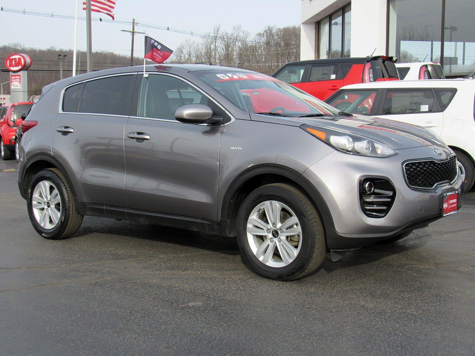 Featured used cars, trucks, and SUVs 2018 Kia Sportage LX LX AWD for sale near you in Newton, NJ