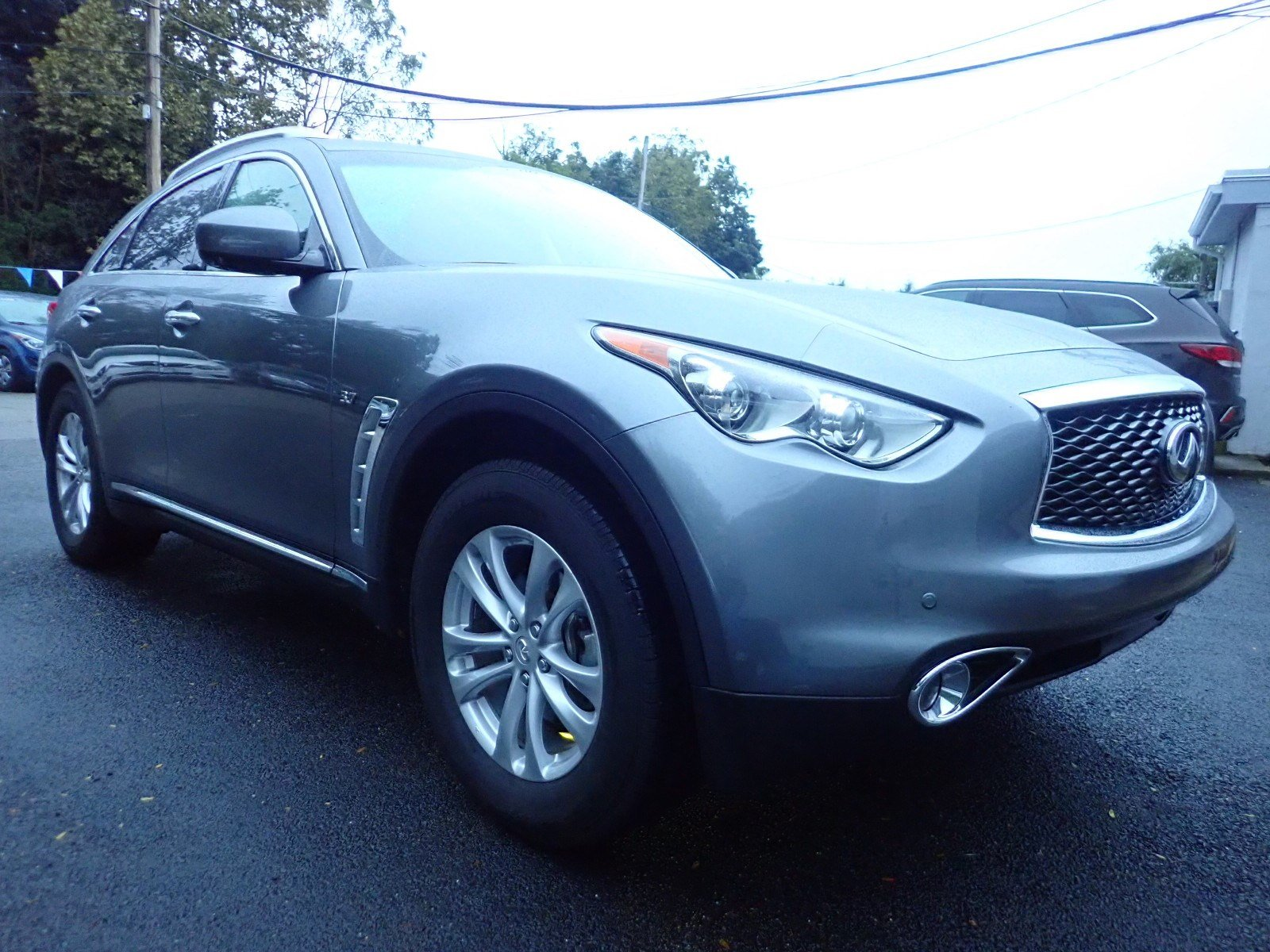 Featured used cars, trucks, and SUVs 2017 INFINITI QX70 AWD for sale near you in Newton, NJ