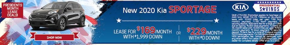 New 2020 Kia Sportage - Feb