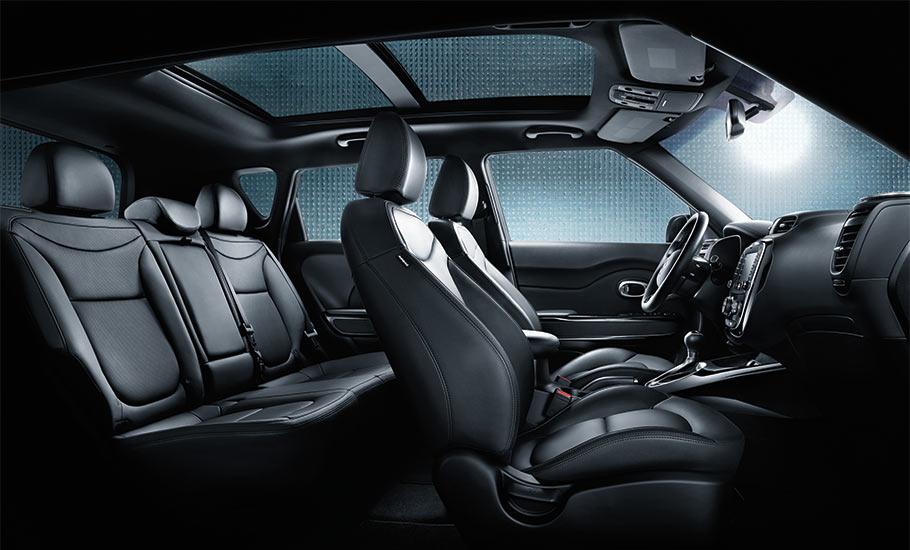 2015 Kia Soul Interior Seating