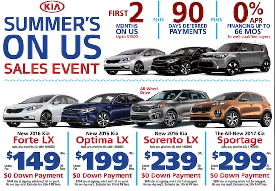 0 Down Car >> Kia Of West Nyack Features The No Gimmicks No Games